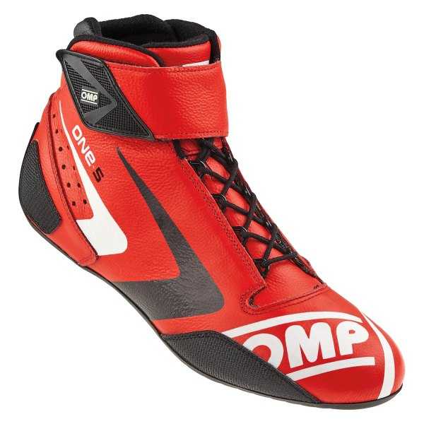 OMP® - One-S 2016 Series Driving Shoes, 44 Size, Red