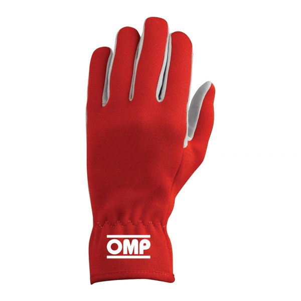 OMP® - Rally Series Racing Gloves, S Size, Red