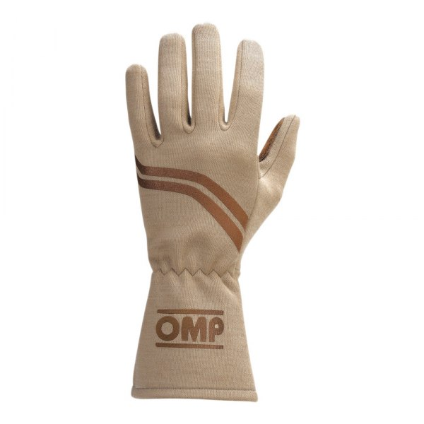 OMP® - Dijon Series Racing Gloves, S Size, Brown