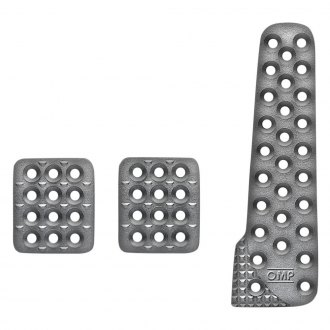 OMP® - Sandblasted Aluminium Long Racing Pedal Set