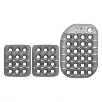 OMP® - 85x120mm Sandblasted Aluminum Short Racing Pedal Set