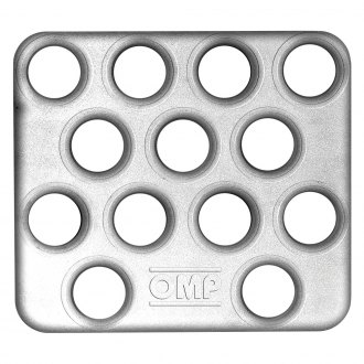 OMP® - 285x120mm Sandblasted Co-Driver Footrest