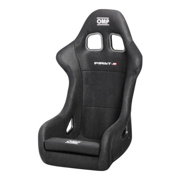 OMP® - First-R Series Competition Seat, One Size, Black