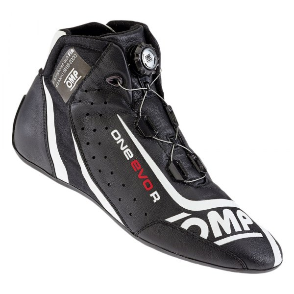 OMP® - One EVO R Series Driving Shoes, 46 Size, Black