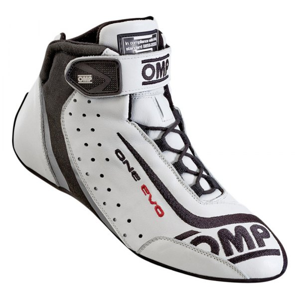 OMP® - One EVO 2015 Series Driving Shoes, 47 Size, White