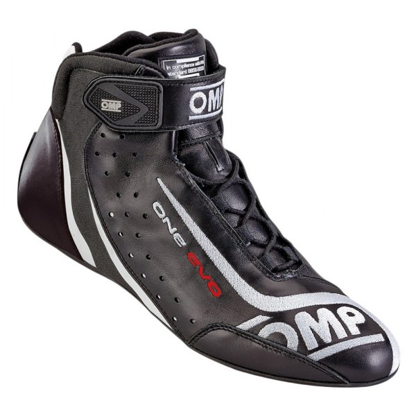 OMP® - One EVO 2015 Series Driving Shoes, 44 Size, Black