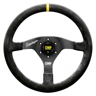 OMP® - 3-Spoke Velocita Superleggero Series Racing Steering Wheel