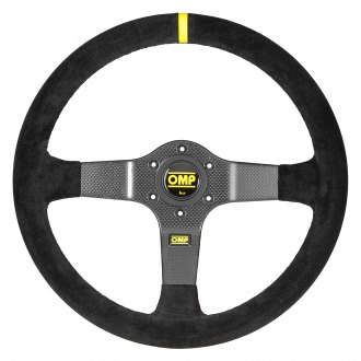 OMP® - 3-Spoke 350 Carbon D Series Racing Steering Wheel
