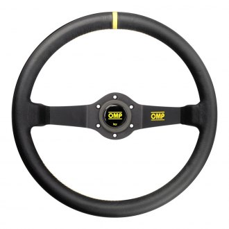 OMP® - 2-Spoke Rally Liscio Series Racing Steering Wheel