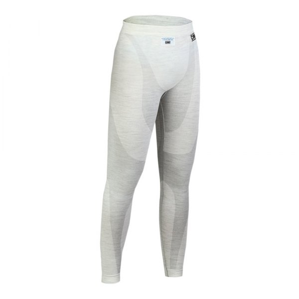 OMP® - One Series Racing Long Johns, XXL Size, White
