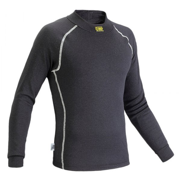 OMP® - Classic Series Racing Undershirt, S Size, Black