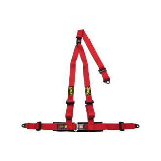 "OMP® - 3 Points Strada 3 Series Street Racing Harnesses, Not Rated (Double Push Button, Bolt In, 2""-2"")"