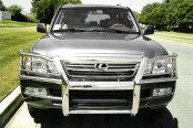 Onki® - Full Stainless Steel Grille Guard, Installed