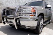 Onki® - Image may not reflect your exact vehicle! GEN2 Stainless Steel Grille Guard, Installed