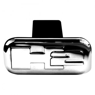 "Onki® - Polished Hitch Cover with H2 Logo for 2"" Receivers"