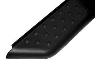 Onki® - Image may not reflect your exact vehicle! 68 Volcano Black Powdercoat Running Boards with Black Pads