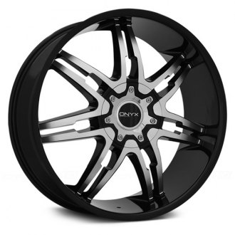 ONYX® - 904 Gloss Black with Machined Face