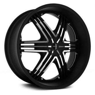 ONYX® - 906 Gloss Black with Machined Face