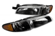 Option-R® - Black Euro Headlights