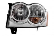 Option-R® - Driver Side Replacement Clear Replacement Headlight