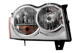 Option-R® - Passenger Side Replacement Clear Replacement Headlight