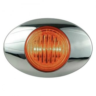"Optronics® - Millennium M3 Series 3"" Yellow Sealed LED Marker/Clearance Light"