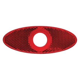 "Optronics® - 3/4"" Lights Red Oval Reflector Surround"