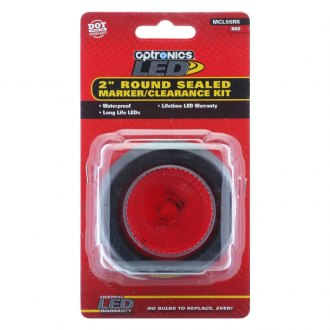 "Optronics® - MCL56 Grommet Series FLEET Count™ 2"" Round Sealed LED Marker/Clearance Light"
