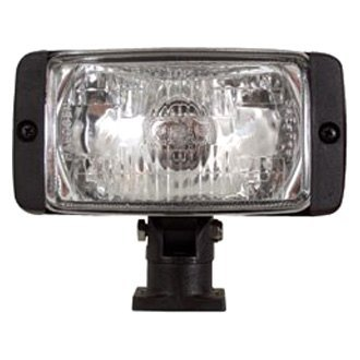 "Optronics® - 5.875""x3"" 35W Rectangular Flood Beam Light with Multi-Directional Post Mount Base"