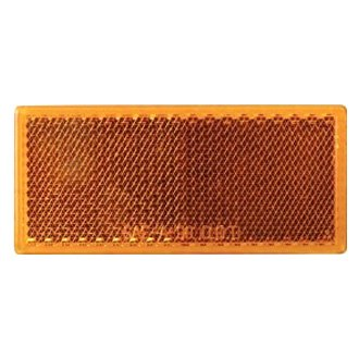 Optronics® - RE10 Series Self Adhesive Rectangular Reflectors