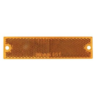 Optronics® - RE15 Series Thinline Self Adhesive/Screw Mount Yellow Reflectors