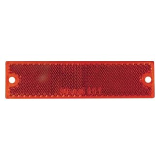 Optronics® - RE15 Series Thinline Self Adhesive/Screw Mount Red Reflectors