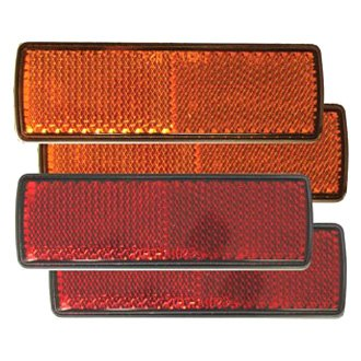 Optronics® - Red and Amber Self Adhesive Reflector Kit