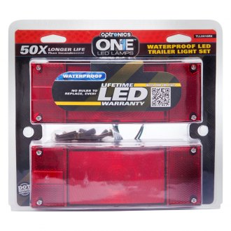 Optronics® - STL0016/17 Series ONE™ LED Low Profile Marine Trailer Tail Light