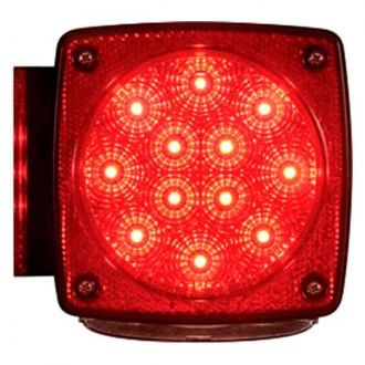 Optronics® - STL28/ 29 Series Miro-Flex™ Chrome/Red LED Combination Tail Light