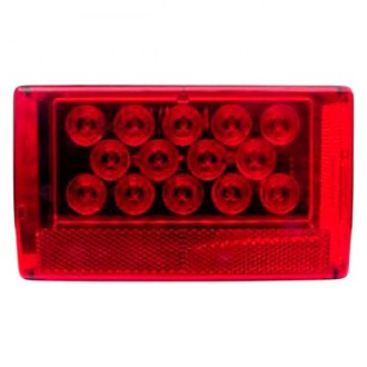 Optronics® - STL56/ 57 Series Chrome/Red Combination LED Tail Light