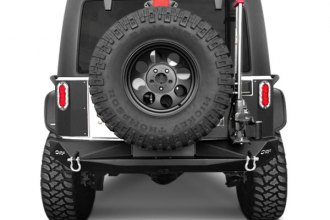 OR-Fab® 83269R - HDX Raw Steel Rear Tire Carrier Bumper