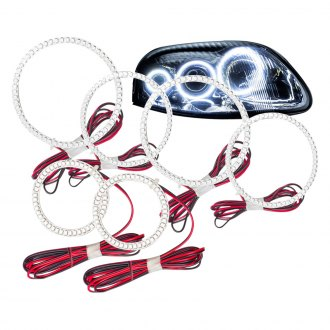 Oracle Lighting® - Color Triple Halo Kit for Headlights