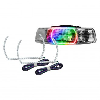 Oracle Lighting® - Color Quad Halo Kit for Headlights