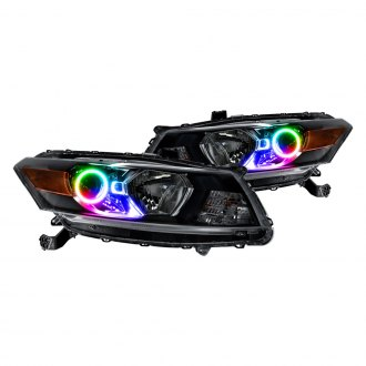 Oracle Lighting® - Chrome OE Style Projector Headlights with Color Halo