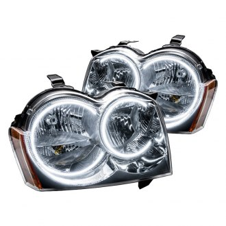 Oracle Lighting® - Chrome OEM Style Headlights with Color Halo