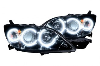Oracle Lighting® 7086-030 - Headlights with 6000K White CCFL Halos Preinstalled