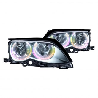 Oracle Lighting® - Black OE Style Headlights with Color Halo