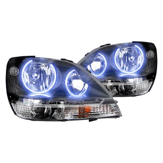 Oracle Lighting® - Black OEM Style Headlights with Color Halo