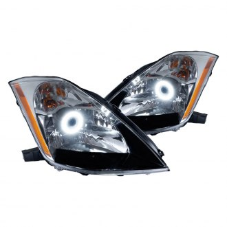 Oracle Lighting® - Chrome OE Style Headlights with Color Halo