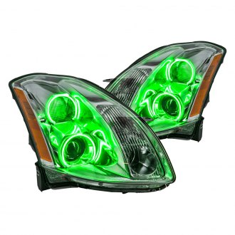 Oracle Lighting® - Chrome Factory Style Projector Headlights with Color Halo