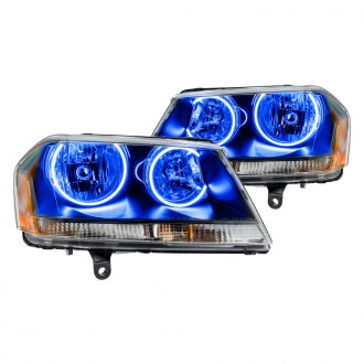 Oracle Lighting® - Black Factory Style Headlights with Color Halo