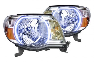 Oracle Lighting® - Chrome Headlights with Halos Preinstalled
