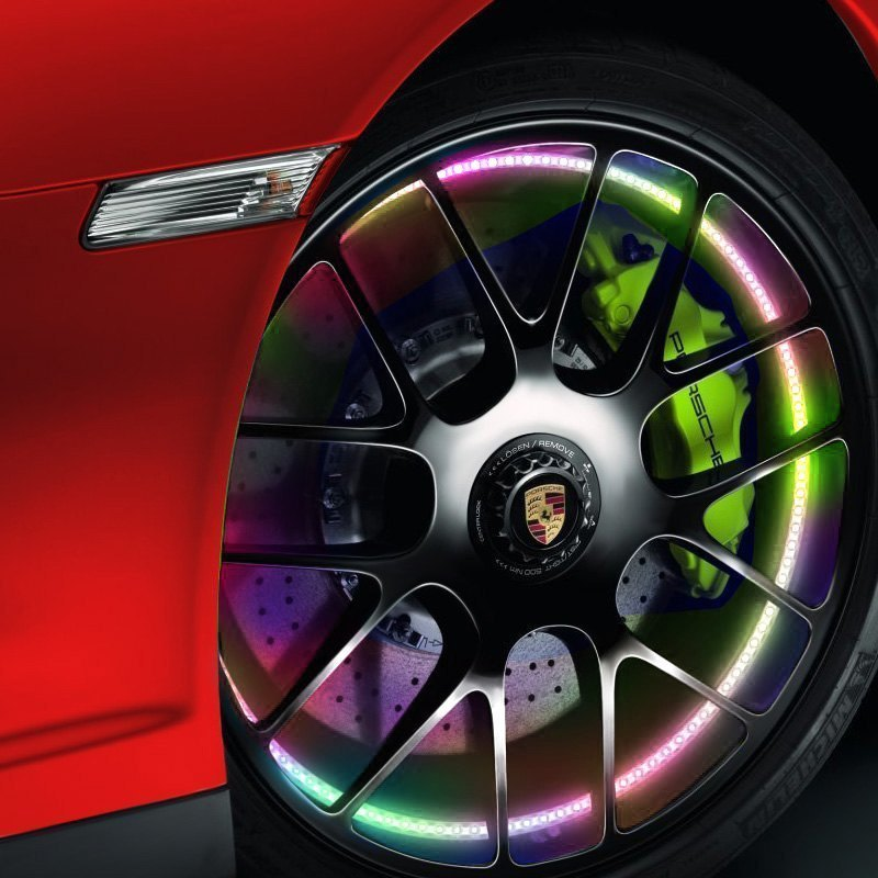 "Oracle Lighting® 4215-334 - 15.5"" Illuminated ColorSHIFT No Remote LED Wheel Kit"