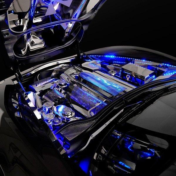 Oracle lighting 4217 002 48 engine bay lighting blue led strip kit oracle lighting 48 engine bay lighting blue led strip kit aloadofball Gallery